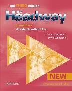 Cover-Bild zu Soars, John: New Headway: Elementary Third Edition: Workbook (Without Key)