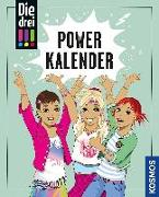 Cover-Bild zu Die drei !!! Powerkalender von Biber, Ina (Illustr.)