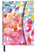 Cover-Bild zu Watercolours 2022 - Diary - Buchkalender - Taschenkalender - 16x22 von teNeues Calendars