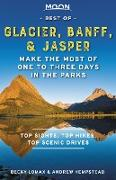 Cover-Bild zu Moon Best of Glacier, Banff & Jasper (eBook) von Hempstead, Andrew