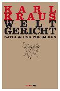 Cover-Bild zu Kraus, Karl: Weltgericht (eBook)