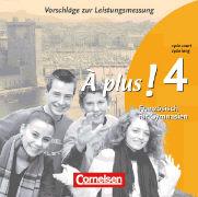 Cover-Bild zu À plus! 4. Vorschläge zur Leistungsmessung. CD-Extra