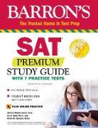Cover-Bild zu SAT Premium Study Guide with 7 Practice Tests (eBook) von Green, Sharon Weiner