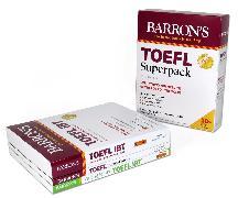 Cover-Bild zu TOEFL Superpack: 3 Books + Practice Tests + Audio Online von Sharpe, Pamela J.