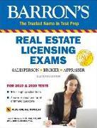 Cover-Bild zu Real Estate Licensing Exams with Online Digital Flashcards von Friedman, Jack P.