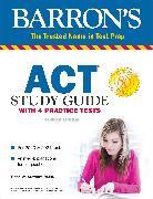 Cover-Bild zu ACT Study Guide with 4 Practice Tests von Stewart, Brian