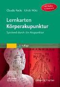 Cover-Bild zu Lernkarten Körperakupunktur von Focks, Claudia