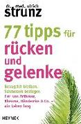 Cover-Bild zu 77 Tipps für Rücken und Gelenke von Strunz, Ulrich