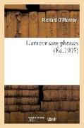Cover-Bild zu L'Amour Sans Phrases