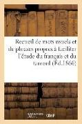 Cover-Bild zu Recueil de Mots Usuels Et de Phrases Propres � Faciliter l'�tude Du Fran�ais Et
