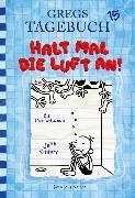 Cover-Bild zu Gregs Tagebuch 15 - Halt mal die Luft an! von Kinney, Jeff