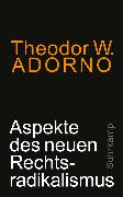 Cover-Bild zu eBook Aspekte des neuen Rechtsradikalismus