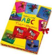 Cover-Bild zu ABC-Tier-Memo von Lohf, Sabine