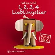 Cover-Bild zu 1, 2, 3, 4 Lieblingstier von Lohf, Sabine