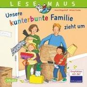Cover-Bild zu Wagenhoff, Anna: LESEMAUS 171: Unsere kunterbunte Familie zieht um