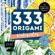 Cover-Bild zu 333 Origami - Watercolor