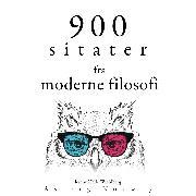 Cover-Bild zu Kant, Immanuel: 900 sitater fra moderne filosofi (Audio Download)