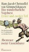 Cover-Bild zu Grimmelshausen, Hans Jacob Christoffel von: Das wunderbarliche Vogelnest