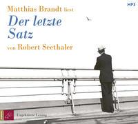 Cover-Bild zu Seethaler, Robert: Der letzte Satz