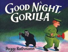 Cover-Bild zu Rathmann, Peggy: Good Night, Gorilla (oversized board book)