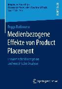 Cover-Bild zu Rathmann, Peggy: Medienbezogene Effekte von Product Placement (eBook)