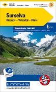 Cover-Bild zu Hallwag Kümmerly+Frey AG (Hrsg.): Surselva, Disentis, Valsertal, Flims Wanderkarte Nr. 20. 1:60'000