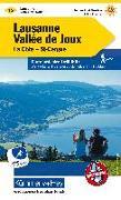 Cover-Bild zu Hallwag Kümmerly+Frey AG (Hrsg.): Lausanne-Vallée de Joux Wanderkarte Nr. 15. 1:60'000