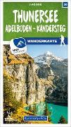 Cover-Bild zu Hallwag Kümmerly+Frey AG (Hrsg.): Thunersee / Adelboden - Kandersteg 30 Wanderkarte 1:40 000 matt laminiert. 1:40'000