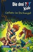 Cover-Bild zu Blanck, Ulf: Die drei ??? Kids 62: Gefahr im Dschungel