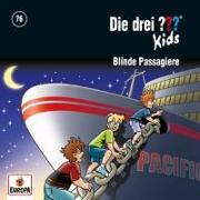 Cover-Bild zu Blank, Ulf: Die drei ??? Kids 76: Blinde Passagiere