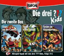 Cover-Bild zu Blanck, Ulf: Die drei ??? Kids 3er Box 02. Folge 04-06