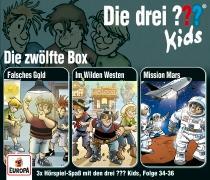 Cover-Bild zu Pfeiffer, Boris: Die drei ??? Kids 3er Box 12. Folge 34-36