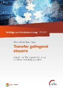 Cover-Bild zu Manitius, Veronika (Hrsg.): Transfer gelingend steuern