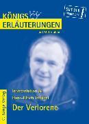 Cover-Bild zu Treichel, Hans-Ulrich: Der Verlorene von Hans-Ulrich Treichel. Textanalyse und Interpretation (eBook)