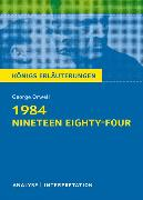 Cover-Bild zu Orwell, George: 1984 - Nineteen Eighty-Four von George Orwell
