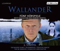 Cover-Bild zu Mankell, Henning: Wallander. Fünf Hörspiele. 2. Staffel