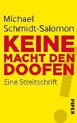 Cover-Bild zu Schmidt-Salomon, Michael: Keine Macht den Doofen