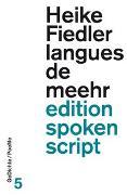 Cover-Bild zu Fiedler, Heike: langues de meehr