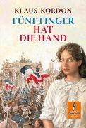 Cover-Bild zu Kordon, Klaus: Fünf Finger hat die Hand