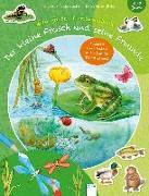 Cover-Bild zu Reichenstetter, Friederun: Der kleine Frosch und seine Freunde. Mein großes Tierstickerbuch
