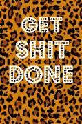 Cover-Bild zu Get Shit Done: Book Notepad Composition and Journal Diary von Designs, Retrosun