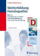 Cover-Bild zu Weiterbildung Homöopathie von Bleul, Gerhard (Hrsg.)