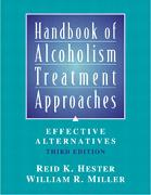 Cover-Bild zu Handbook of Alcoholism Treatment Approaches von Hester, Reid K.