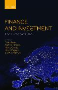 Cover-Bild zu Mayer, Colin (Peter Moores Professor of Management Studies, Peter Moores Professor of Management Studies, Said Business School, University of Oxford, UK) (Hrsg.): Finance and Investment: The European Case