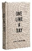 Cover-Bild zu Chronicle Books (Geschaffen): Canvas One Line a Day