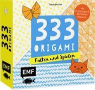Cover-Bild zu Precht, Thade: 333 Origami - Falten und Spielen