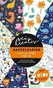 Cover-Bild zu Precht, Thade: Sei kreativ! - Bastelpapier Piraten, Dinos und Co. - Bastelideen und 30 Bogen Motivpapier in 2 Stärken (120 g/qm, 250 g/qm)