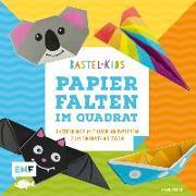 Cover-Bild zu Precht, Thade: Papierfalten im Quadrat - Bastel-Kids
