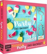 Cover-Bild zu Friedrichs, Emma: Tropical Party - das Backset mit Rezepten und Ananas- und Flamingo-Ausstecher aus Edelstahl - Limitierte Sonderausgabe