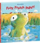 Cover-Bild zu Müller, Birte: Fritz Frosch pupst!